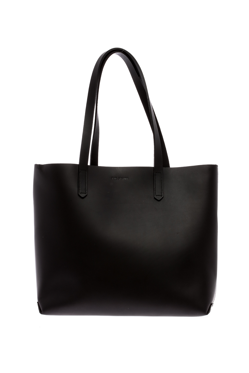 The Stowe Black Mini Tote - Front Cropped Image
