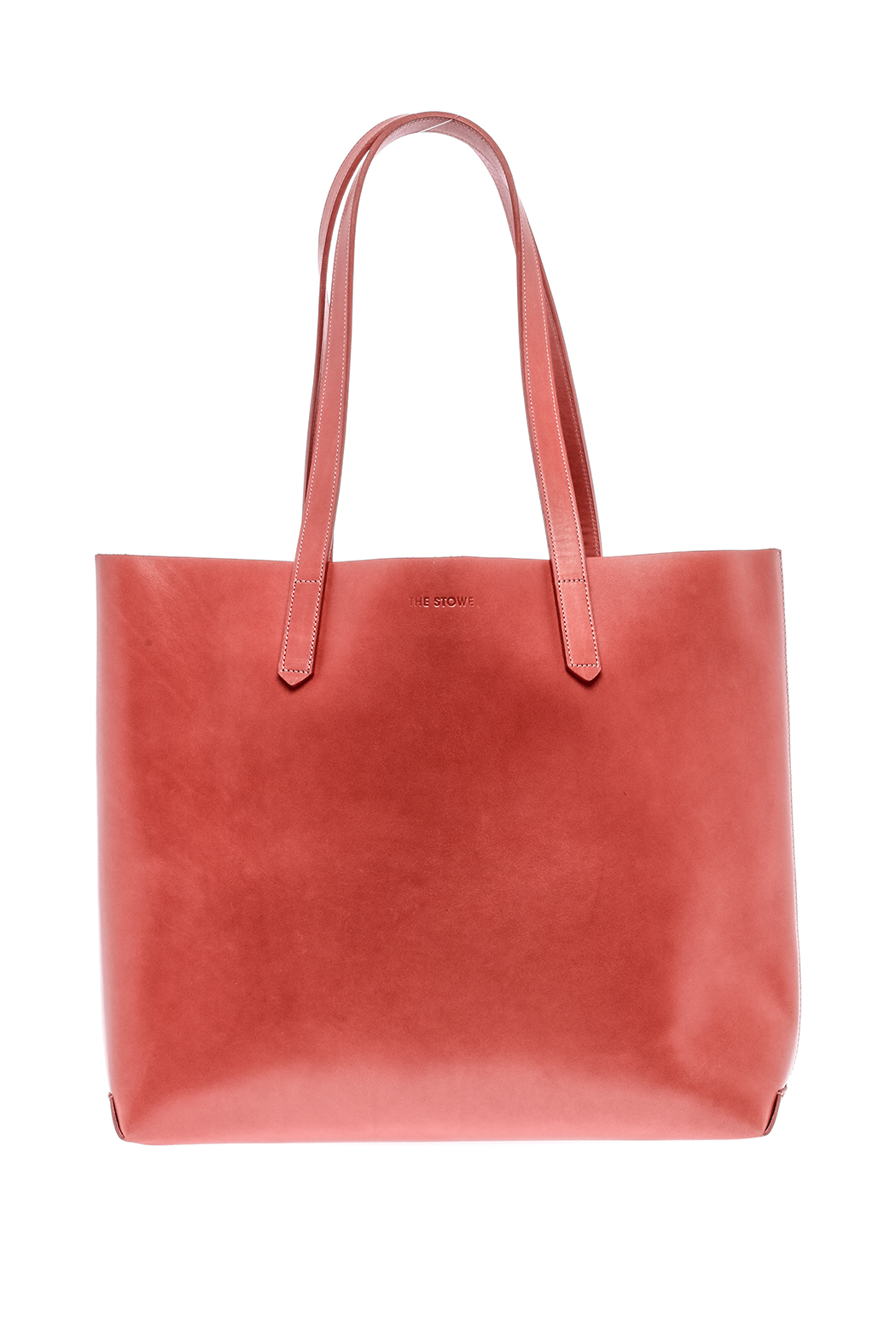 The Stowe Rose Red Tote - Front Cropped Image