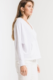 z supply The Surplice Hoodie - Back cropped