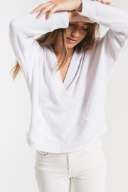 z supply The Surplice Hoodie - Product Mini Image