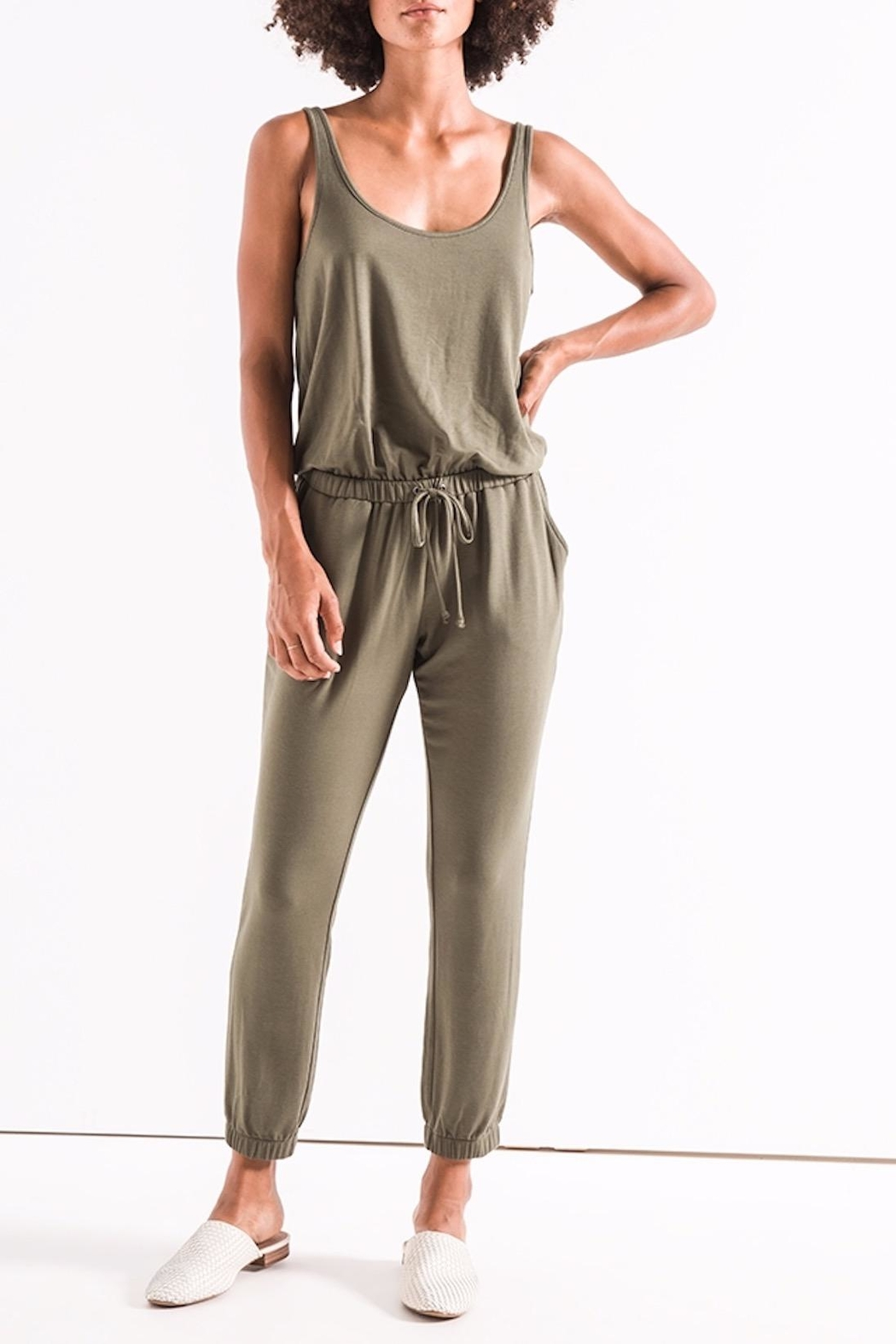 z supply The Tank Jumpsuit - Main Image