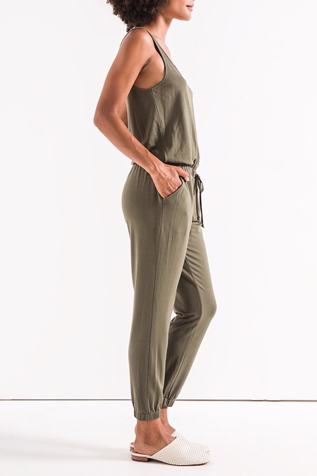 z supply The Tank Jumpsuit - Side Cropped Image