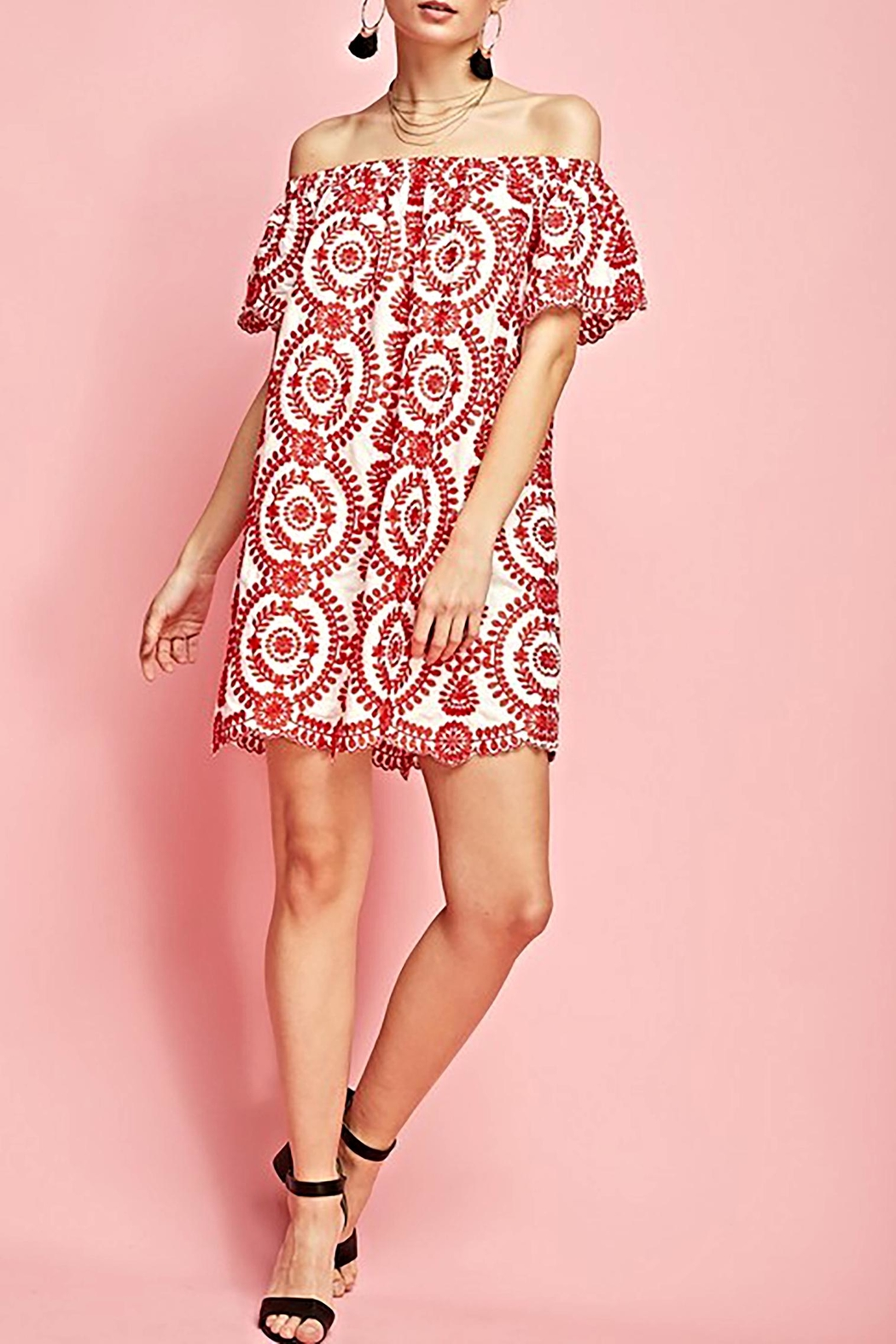 Entro The Tayah Dress - Back Cropped Image