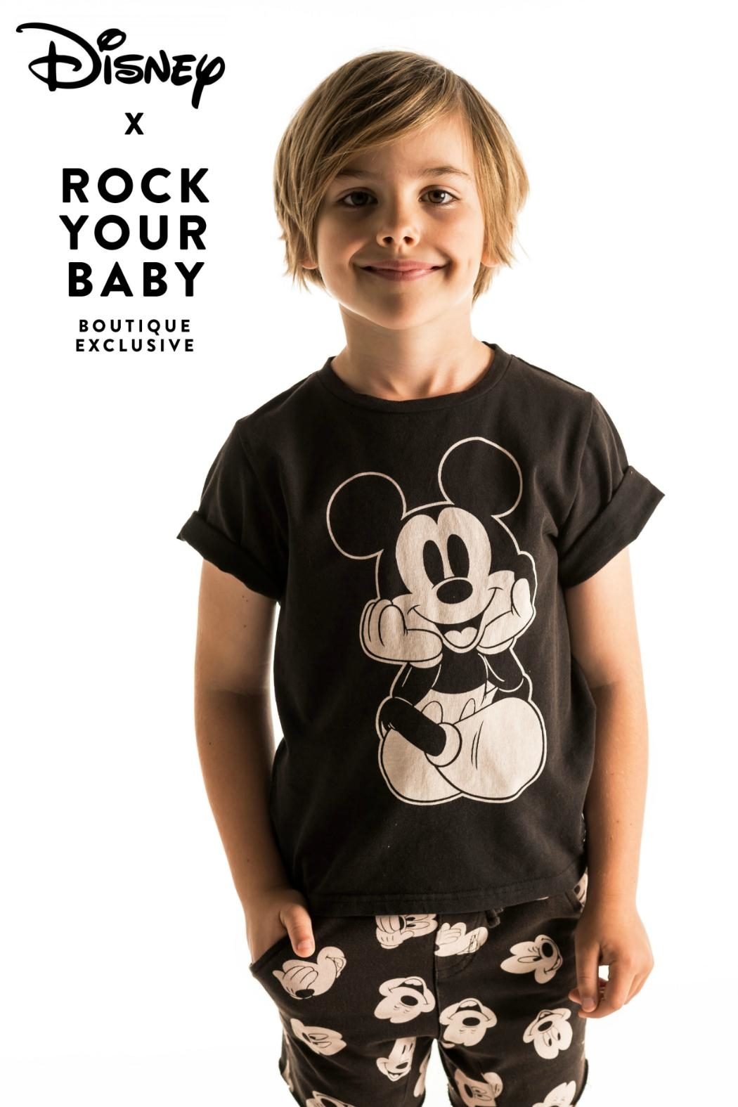 Rock Your Baby The Thinker T-Shirt - Main Image