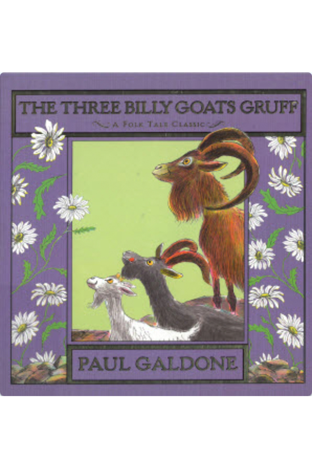 Houghton Mifflin Harcourt  The Three BIlly Goats Gruff - Main Image