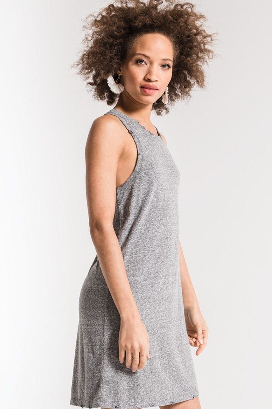 Zsupply The Triblend Dress - Front Full Image