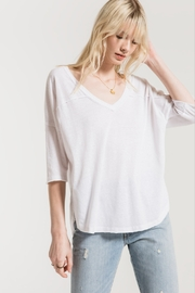 z supply The Triblend Sporty Tee - Product Mini Image