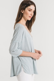 z supply The Triblend Sporty Tee - Front full body