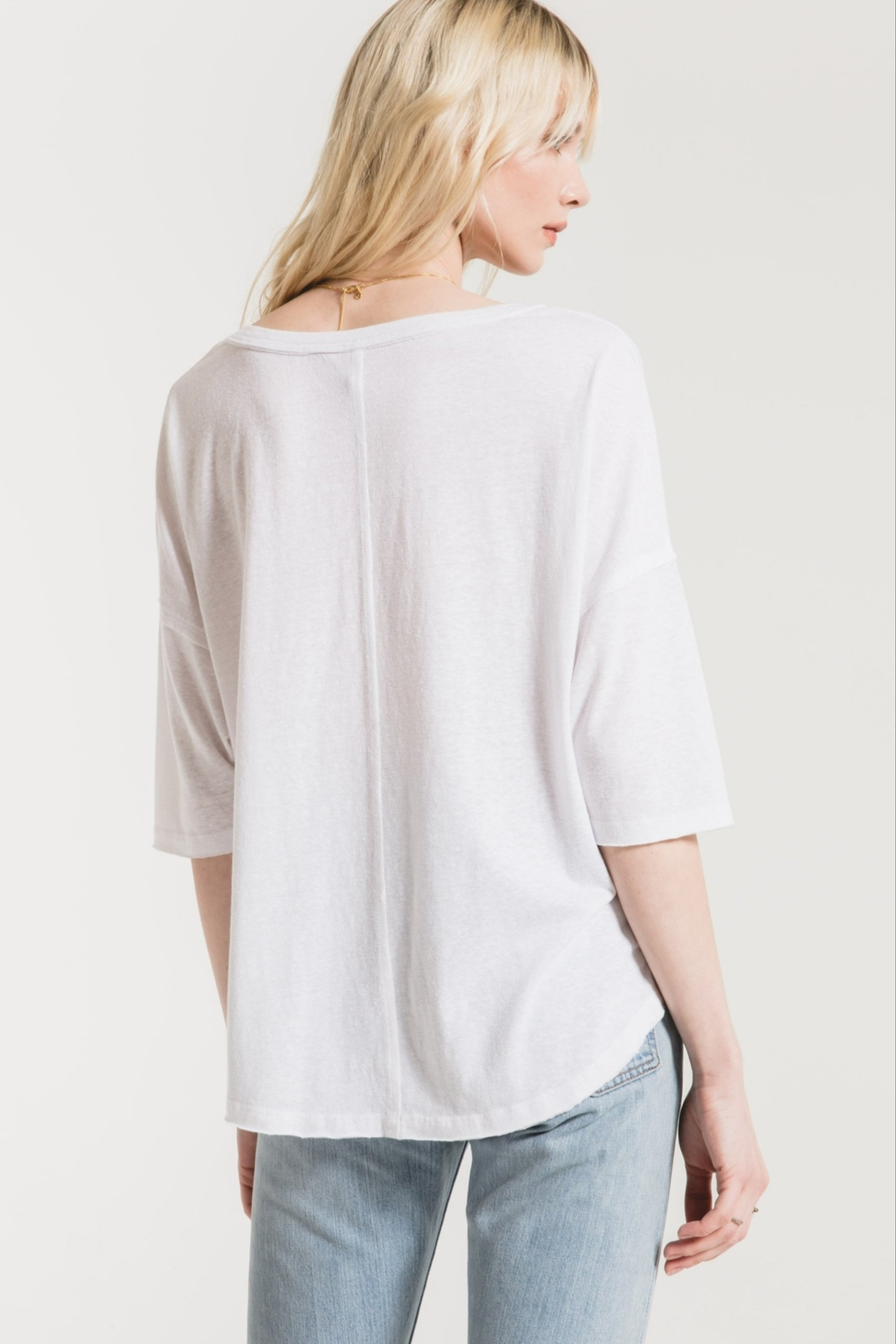 z supply The Triblend Sporty Tee - Side Cropped Image