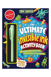 Klutz The Ultimate Invisible Ink Activity Book - Product Mini Image