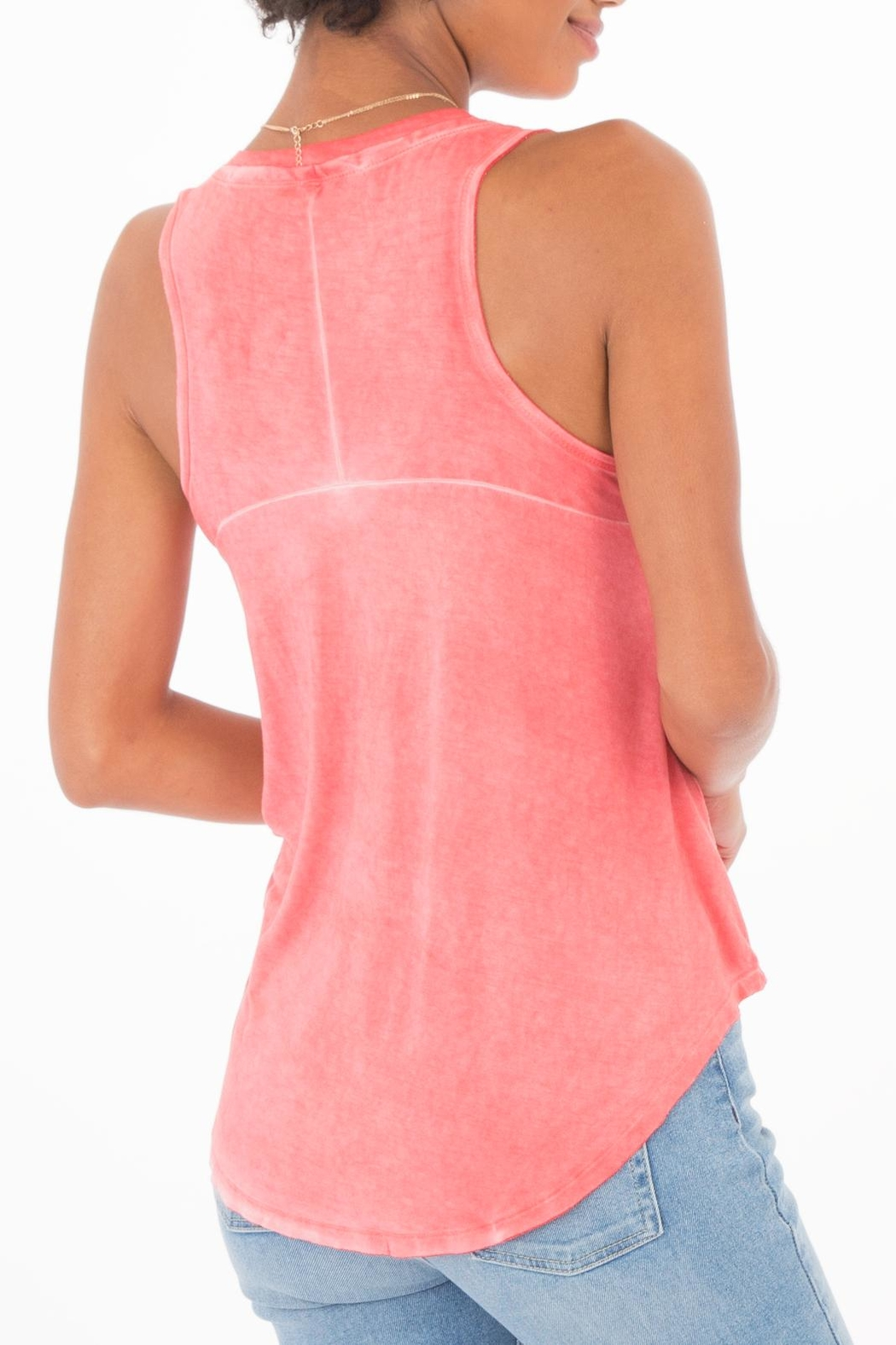 z supply The Vagabond Tank - Back Cropped Image
