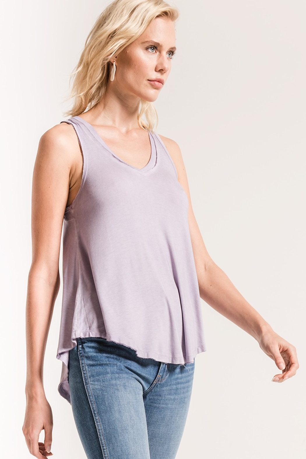 z supply The Vagabond Tank - Side Cropped Image