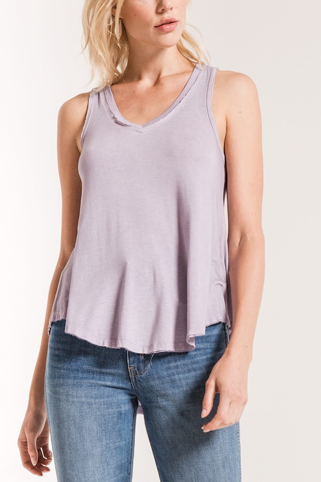 z supply The Vagabond Tank - Front Cropped Image