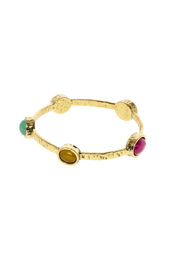 The Velvet Maple Multi Stone Skinny Bracelet - Product List Image