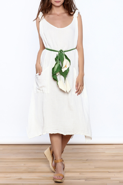Shoptiques Product: Tulip Felt Wrap Belt