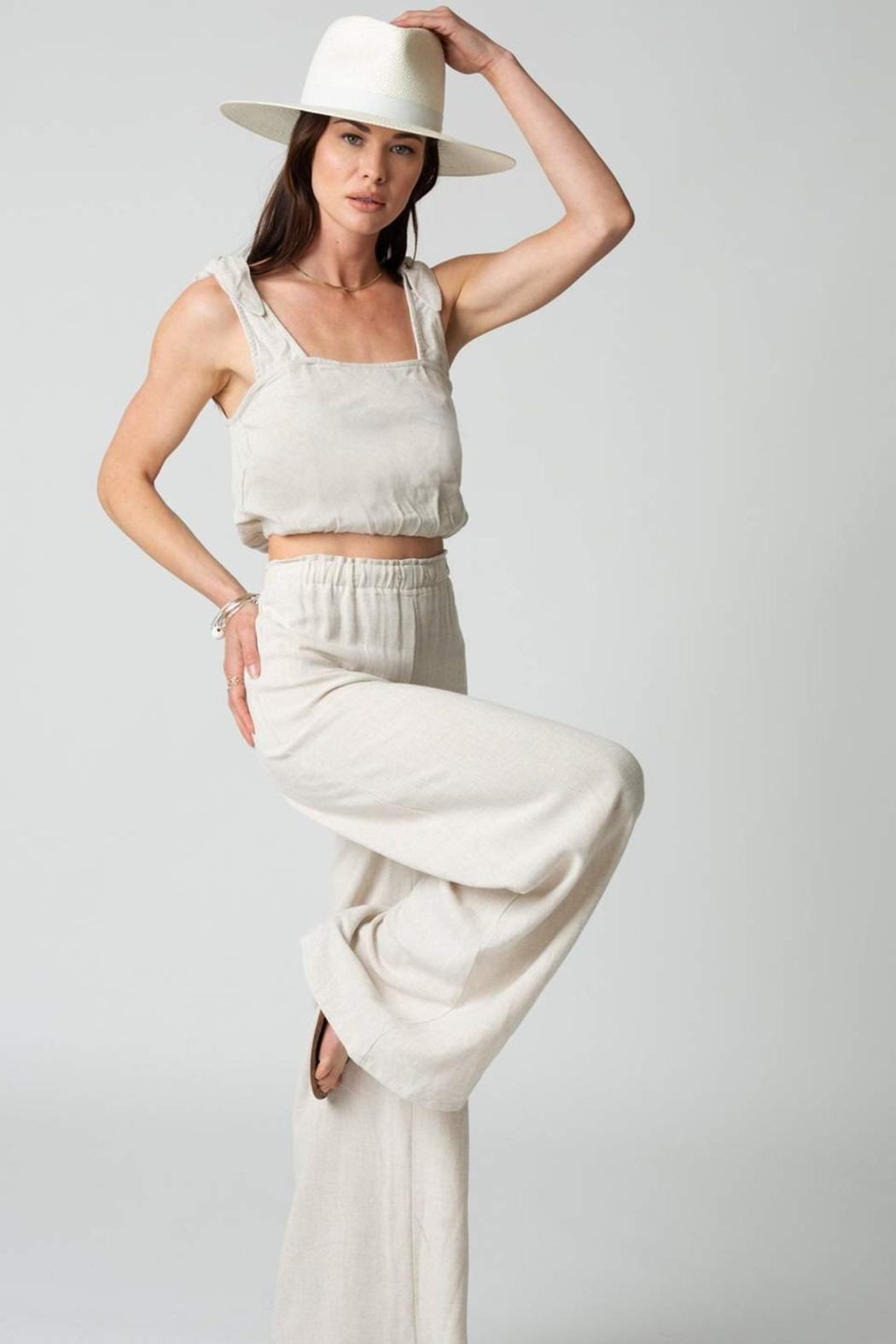 Stillwater The Venice Wide Leg Pant - Front Full Image