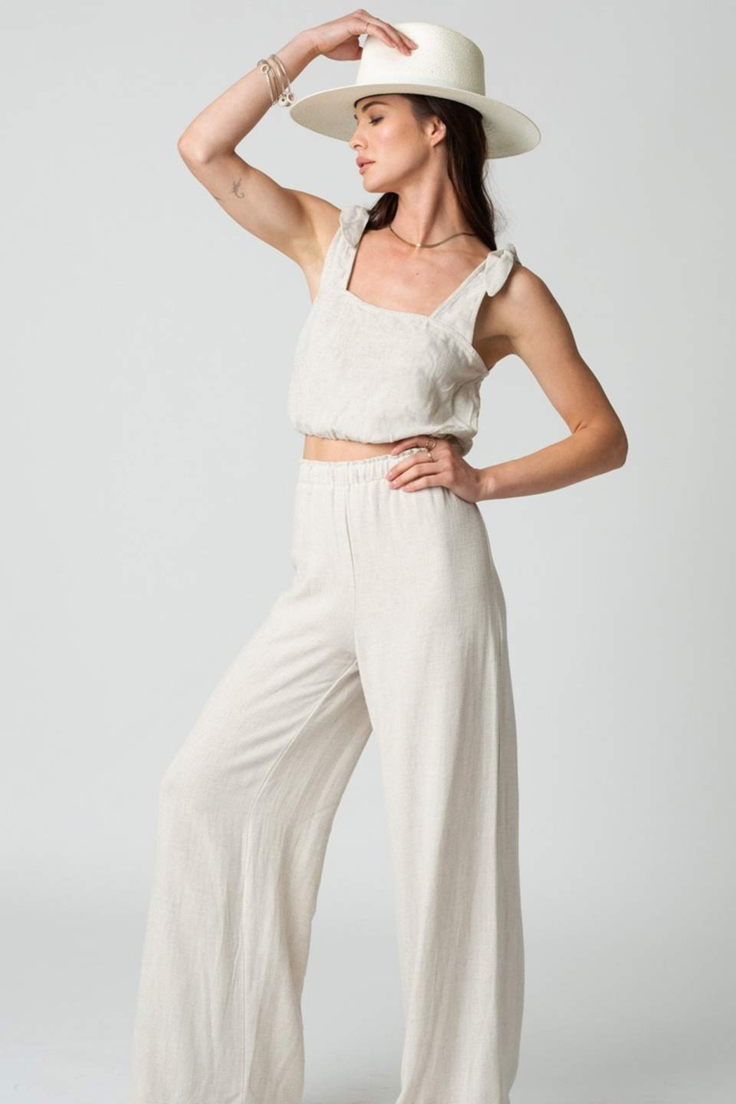 Stillwater The Venice Wide Leg Pant - Front Cropped Image