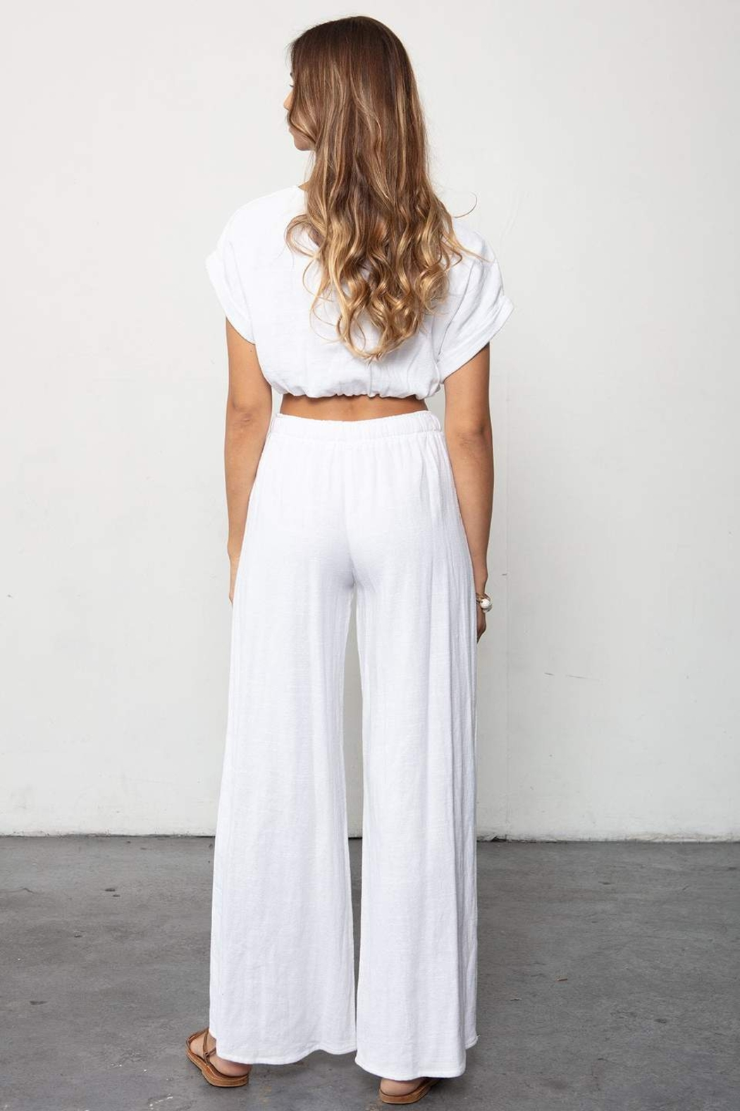 Stillwater The Venice Wide Leg Pant - Side Cropped Image