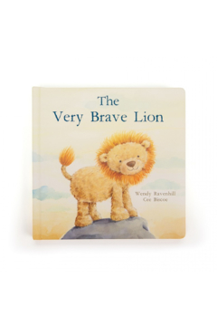 The Birds Nest THE VERY BRAVE LION BOOK - Product List Image