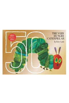 Penguin Books The Very Hungry Caterpillar 50th Anniversary Gold Edition - Alternate List Image