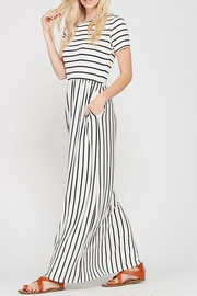 Style Trolley The Victoria Striped-Maxi - Back cropped