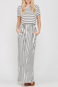 Style Trolley The Victoria Striped-Maxi - Product List Image
