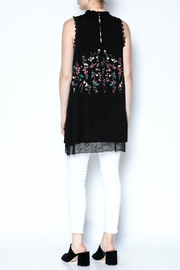 The Vintage Valet Embroidered Black Tank - Other