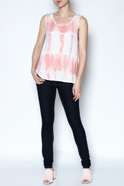 The Vintage Valet Peach Bowback Tank - Front full body