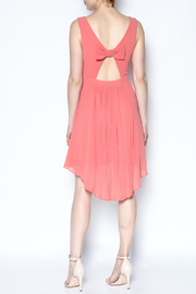 The Vintage Valet Peach Pleated Dress - Other