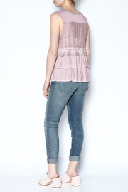 The Vintage Valet Pink Ruffle Tank - Other