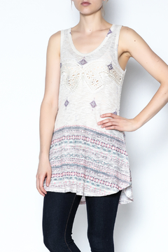 The Vintage Valet Rhinestone Tank Top - Product List Image