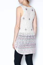 The Vintage Valet Rhinestone Tank Top - Back cropped