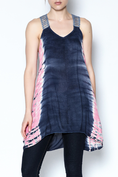 The Vintage Valet Tye Dye Tank - Product List Image