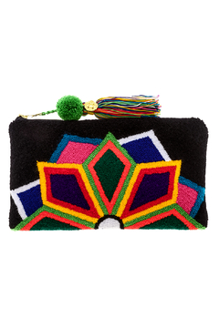 Shoptiques Product: Black Lotus Clutch