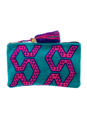 the way u Turquois Aztec Clutch - Product Mini Image