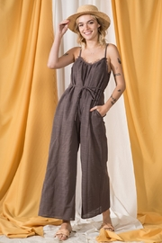 VeryJ The Weekend Jumpsuit - Product Mini Image