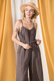 VeryJ The Weekend Jumpsuit - Front full body