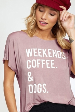 Everfitte The Weekend Tee - Product List Image