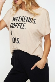 Style Trolley The Weekend Tee - Front full body