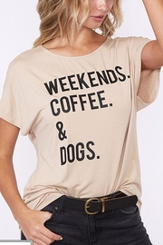 Style Trolley The Weekend Tee - Front cropped