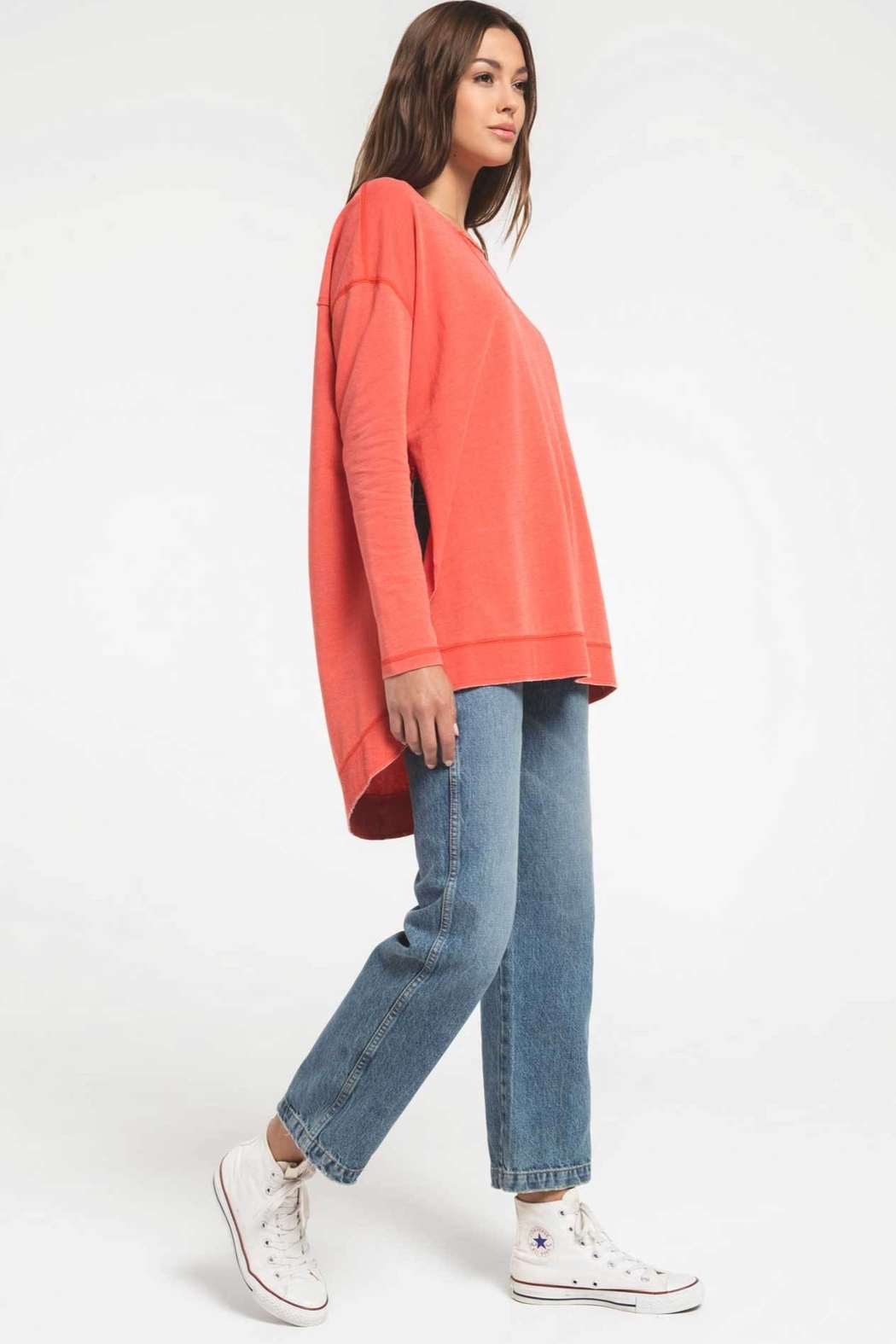 z supply The Weekender Top - Side Cropped Image