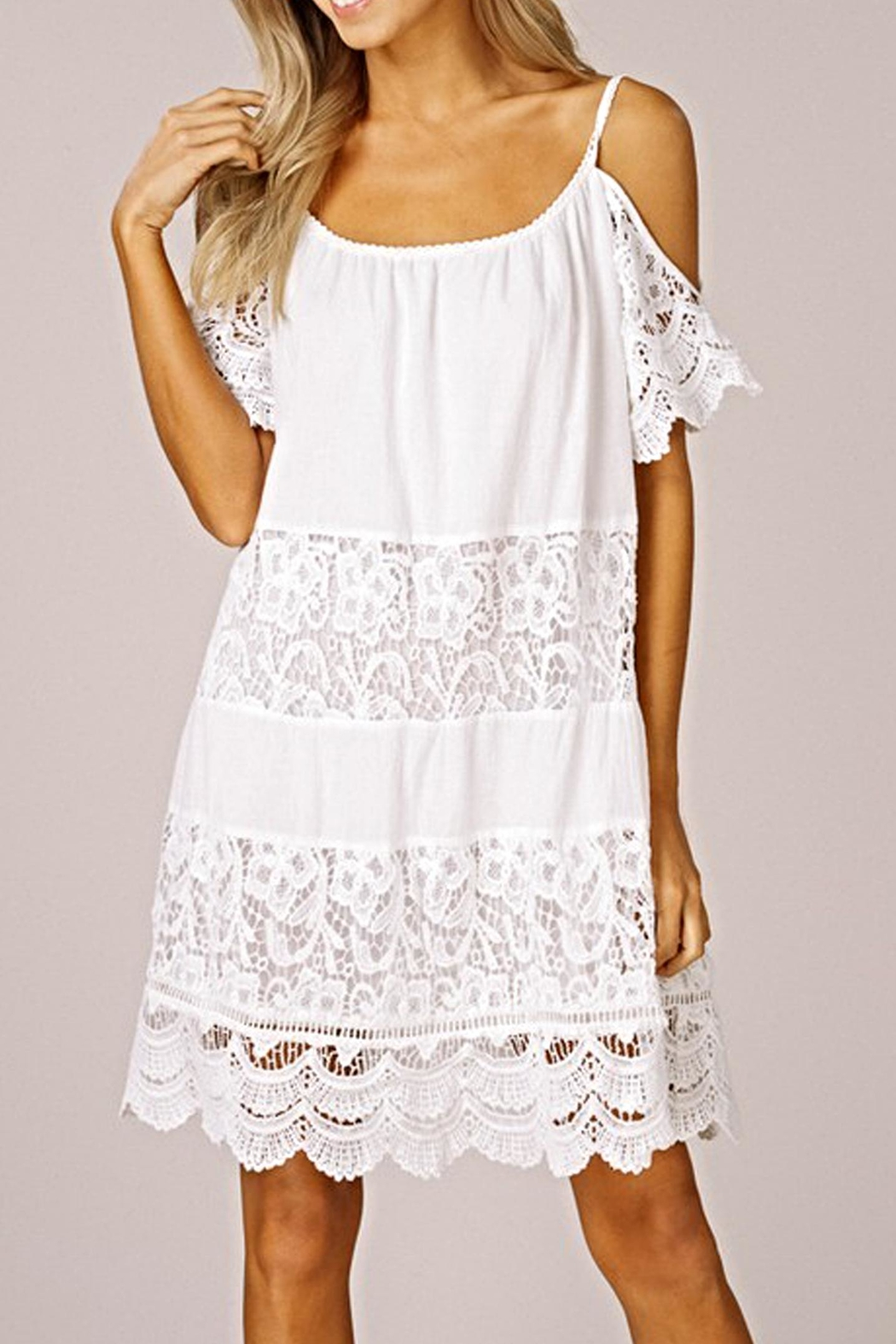 Listicle The Winkie Dress - Front Full Image