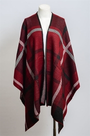 Leto The Zenna Poncho - Product Mini Image