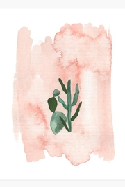 The Affair Cactus Art Print - Front cropped