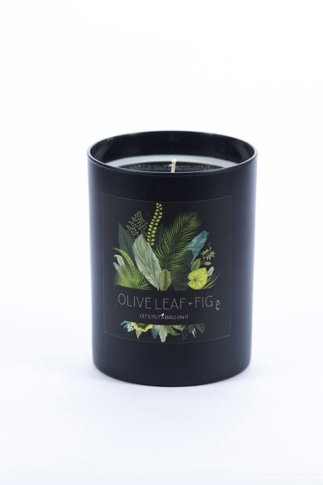 The Affair Oliveleaf Fig Candle - Front Cropped Image
