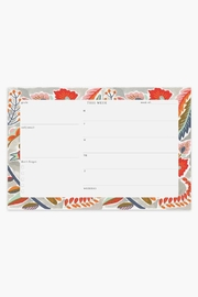 The Affair Sparrow Weekly Planner - Front cropped
