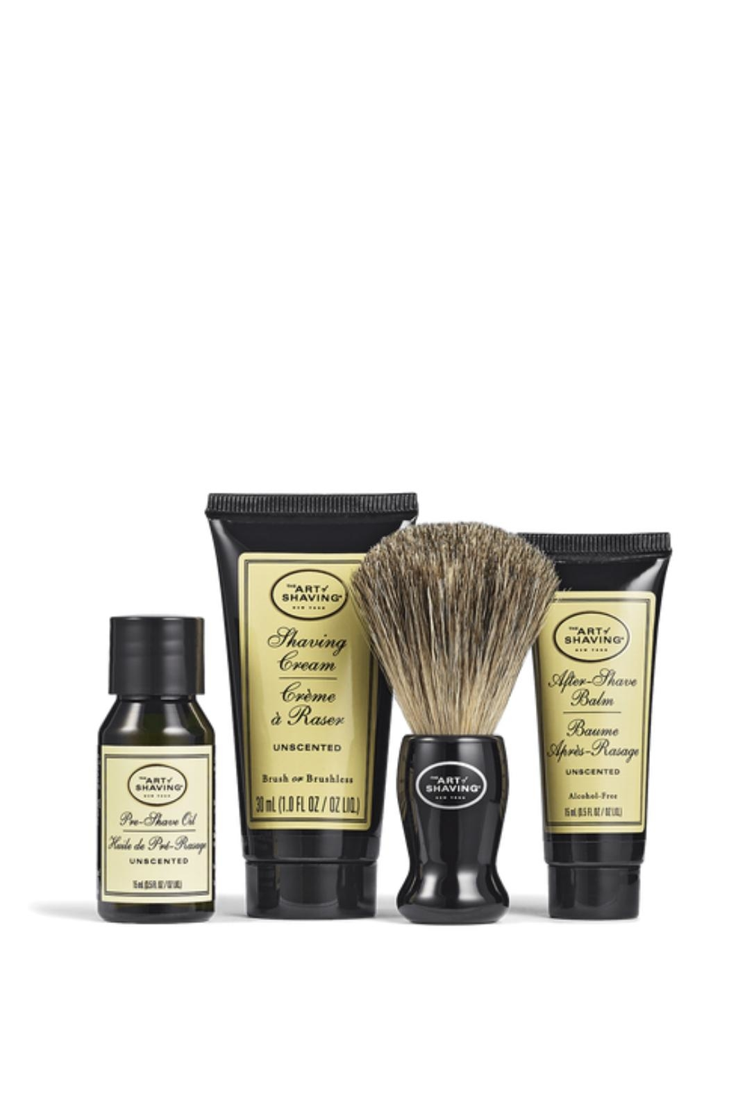 The Art of Shaving Mensgrooming  Unscented Travelkit - Front Full Image
