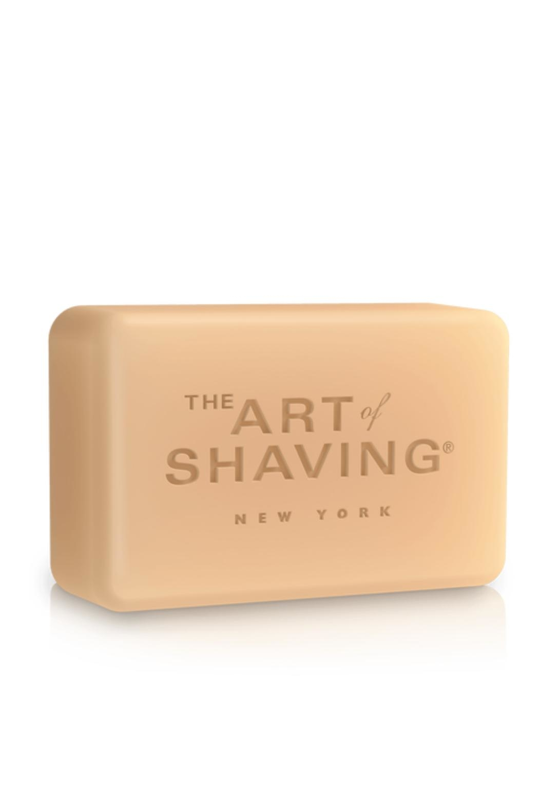 The Art of Shaving Sandalwood Bar Soap - Front Full Image