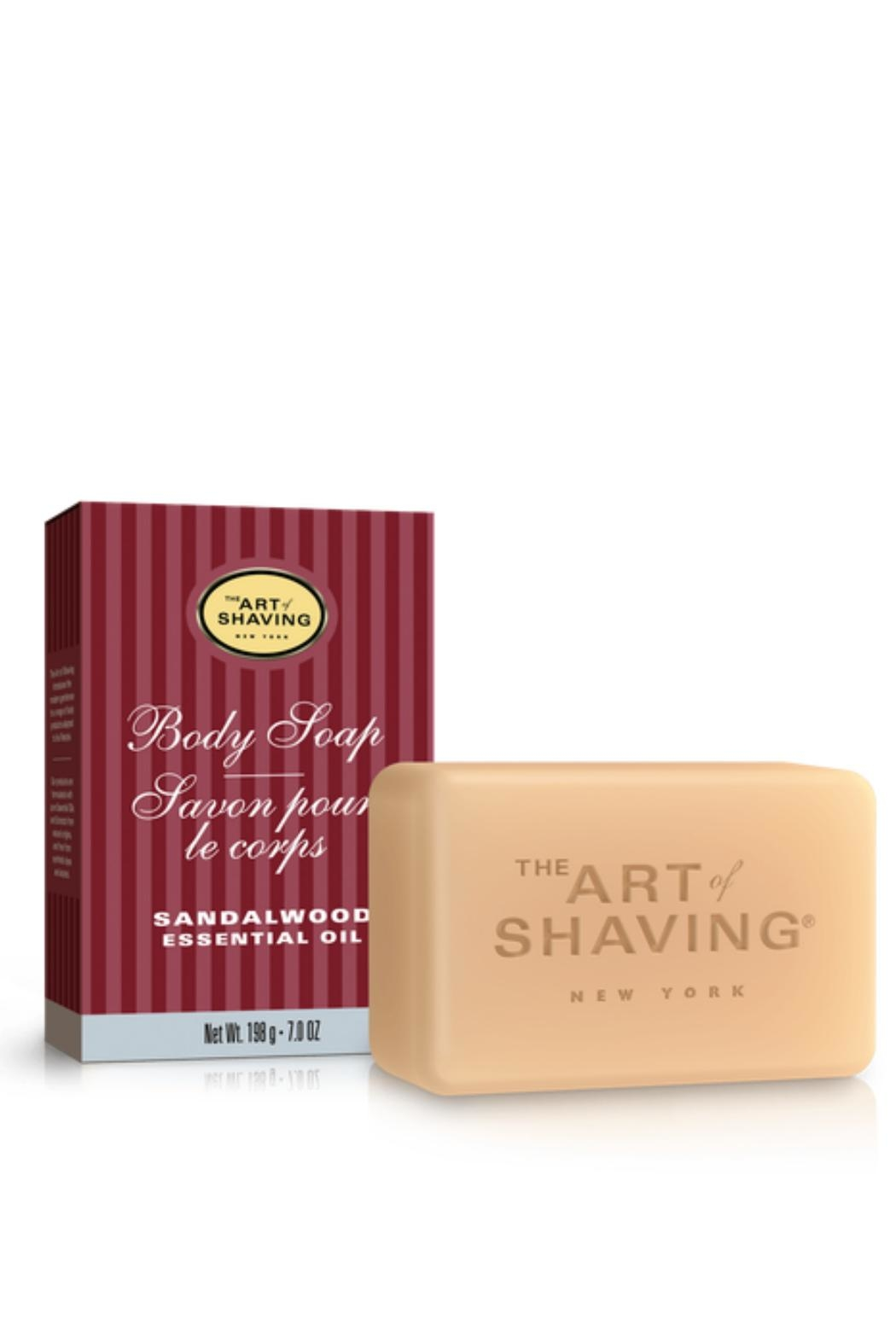 The Art of Shaving Sandalwood Bar Soap - Front Cropped Image