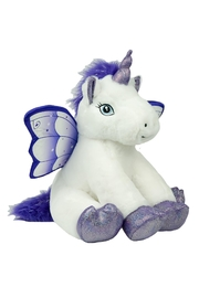 The Bear Factory Crystal The Unicorn - Front full body